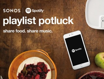 Sonos introduceert Playlist Potluck