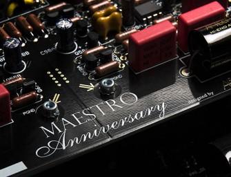 Audio Analogue Maestro krijgt verjaardagseditie