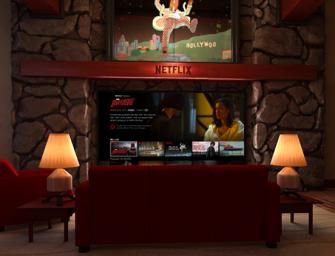 Virtueel tv kijken met Netflix VR