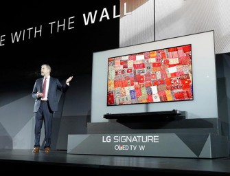 LG onthult Wallpaper tv op CES