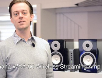 Yamaha WXA-50 Wireless Streaming Amplifier – Video
