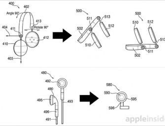 Apple patenteert hoofdtelefoon die in speakers verandert