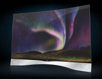 curved tv lg