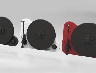 Pro-Ject VT-E BT verticale platenspeler werkt draadloos met Bluetooth