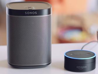 Sonos bevestigt Amazon Alexa voicesupport in 2017