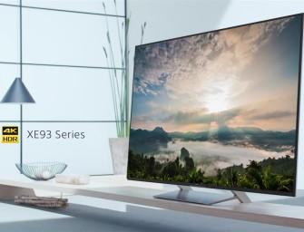 Prijzen Sony XE93 Lcd Led tv-serie vrijgegeven