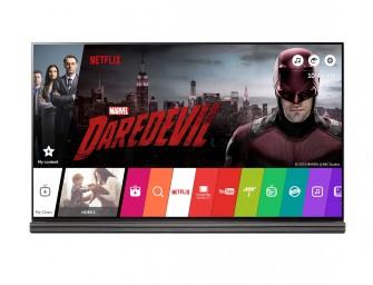LG-modellen opnieuw 'Netflix Recommended TV's'