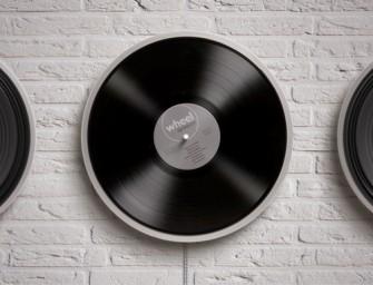 Wheel by Miniot is misschien de meest minimalistische platenspeler ooit