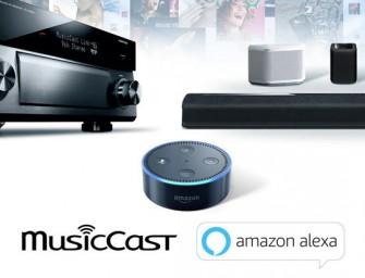 Ook Yamaha MusicCast krijgt Alexa voice-control