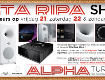 Alta Ripa Show in Oud-Turnhout op 21,22 en 23 april 2017