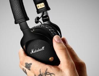 Nieuwe Marshall Monitor Bluetooth gaat dertig uur mee