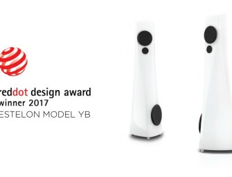 Estelon wint Red Dot Design Award voor Model YB luidsprekers