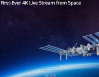 nasa 4K livestream