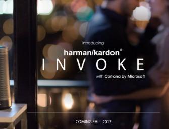 Harman Kardon Invoke luidspreker bekend gemaakt … per ongeluk