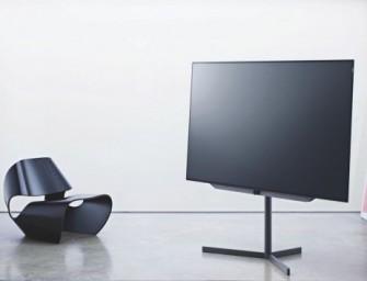 Loewe voegt een 77 inch-tv toe aan Bild 7 OLED reeks