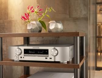 Marantz lanceert stijlvolle en nieuwe NR1608 en NR1508 netwerk-AV-receivers