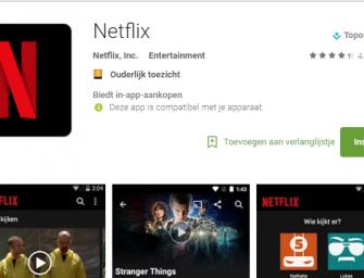 Geen Netflix meer op deze Android smartphones