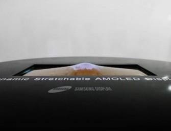 Samsung presenteert rekbaar scherm op SID 2017