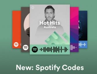 Met Spotify Codes kan je nu muziek scannen en delen