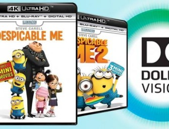 Despicable Me is eerste 4K Blu-ray met Dolby Vision