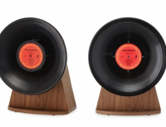 Vintage Vinyl Bluetooth speaker op Kickstarter is groot succes