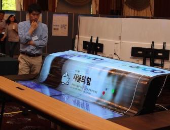 LG heeft nu een transparant en oprolbaar OLED-scherm