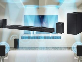 Samsung Dolby Atmos soundbars krijgen DTS 5.1 update