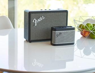 Fender brengt twee nieuwe Bluetoothspeakers uit