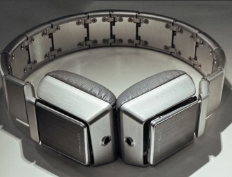 De Luzli Roller MK01 hoofdtelefoon rol je op