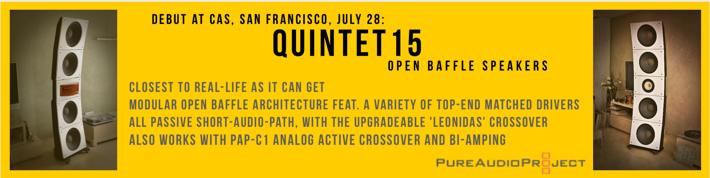 pureaudioproject quintet15 - AudioVideo2day