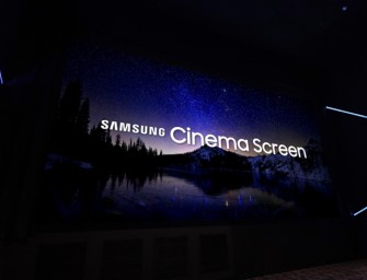 Samsung installeert eerste Cinema LED voor bioscopen