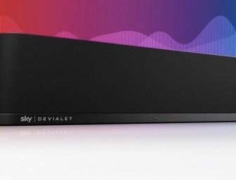 Sky en Devialet maken samen Sky Soundbox soundbar