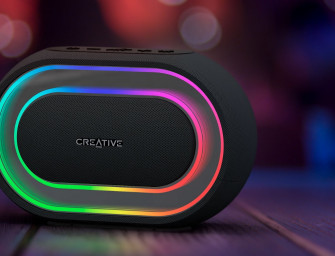 Creative Halo, bluetooth speaker met geïntegreerde lichtshow