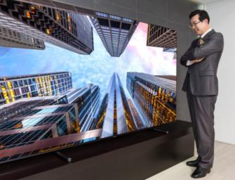 Enorme 88″ Samsung QE88Q9F TV deze maand beschikbaar