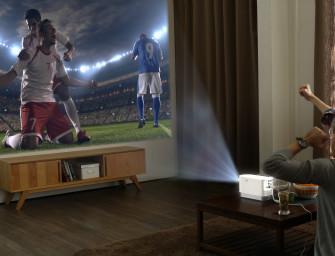 LG ProBeam brengt 100 inch beeld vanaf 12 cm