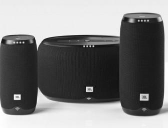 JBL Link zijn smart speakers met Google Assistant