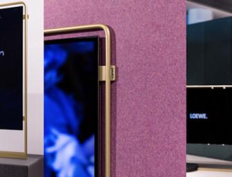 Nieuwe Loewe bild x OLED tv doet denken aan LG Wallpaper tv