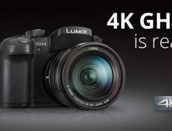 Met Panasonic LUMIX beheers je 4K van opname tot weergave