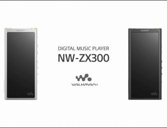 Sony lanceert NW-ZX300 Walkman voor 650 euro