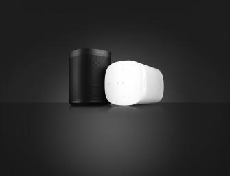 Sonos One is een voice-controlled Alexa luidspreker